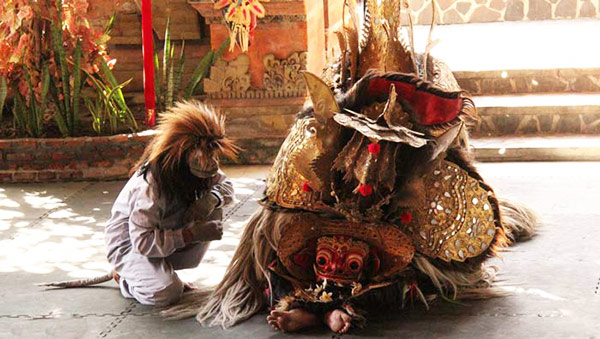 Barong Dance in near Ubud