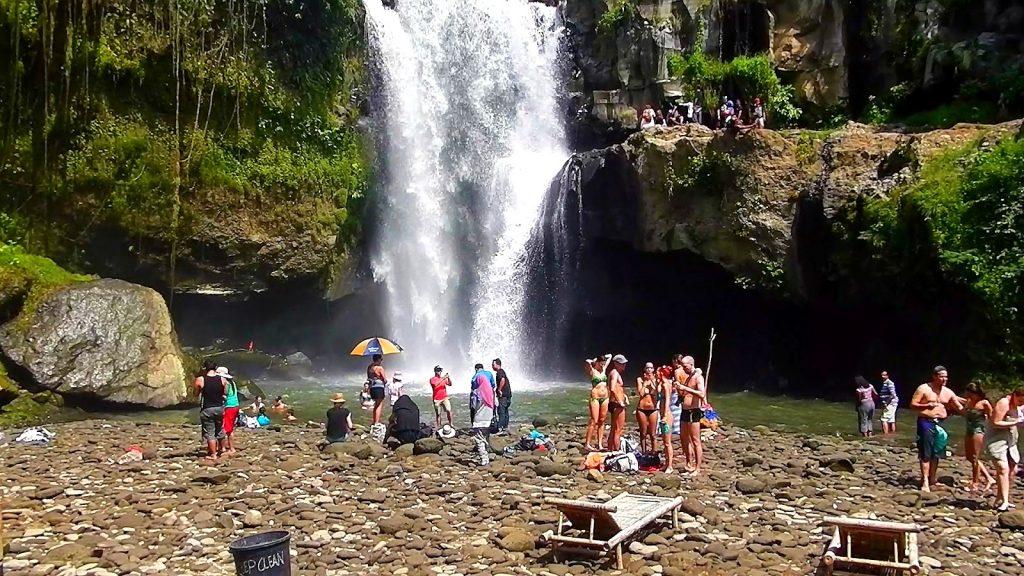best waterfall near ubud