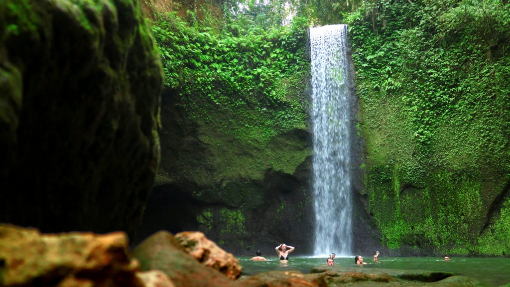 kanto lampo waterfall is one of the best waterfall in bali